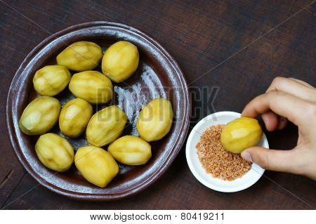 Vietnamese Food, Spondias Mombin