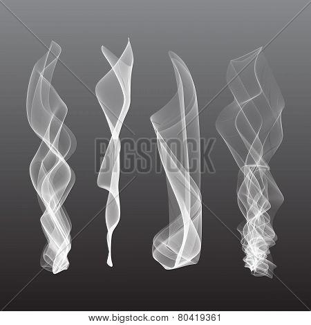 Smoke background vector, steam, isgenerated, liquidolated, fog,