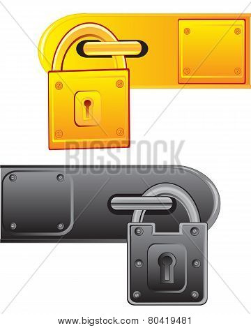 Outboard lock
