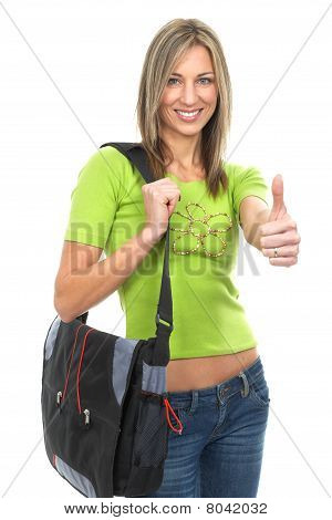 Happy Beautiful Woman