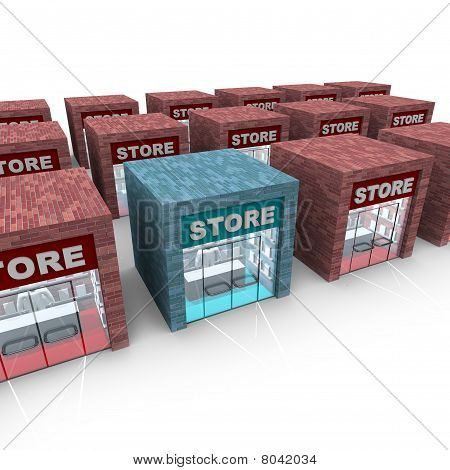 Many Stores - One Stands Apart