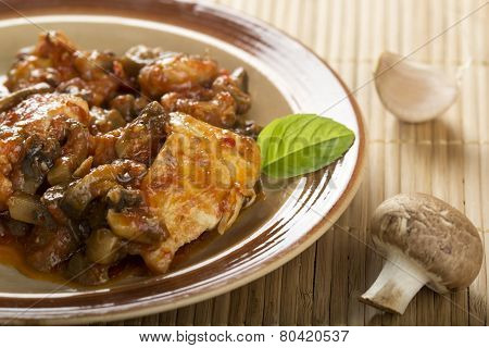 Chicken And Mushrooms