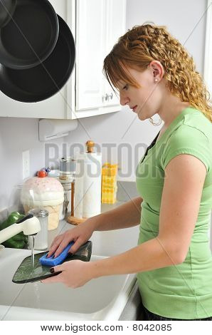 Doing The Dishes