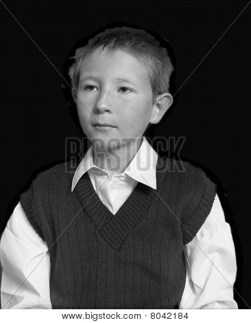 Portrait Young Boy