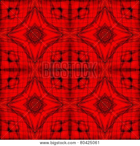 Beautiful seamless red background patterned by Orange Albatross butterfly's wing skin