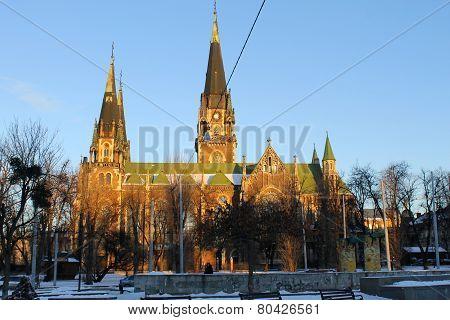Church of Saints Olha and Elizabeth, Lviv