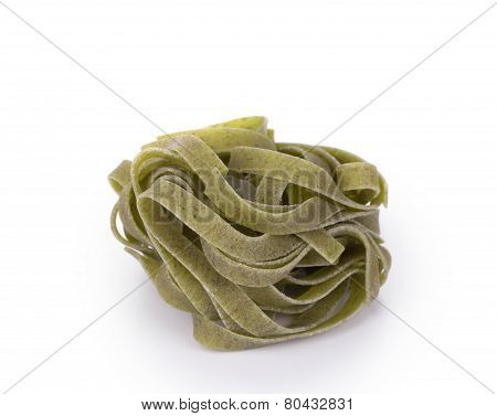 green tagliatelle