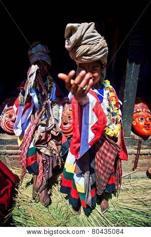 Nevaris Puja ceremony, Nepal
