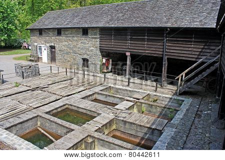 Traditional Tannery Building
