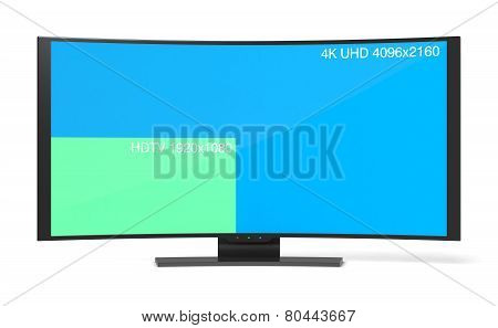 Curved Tv Uhd