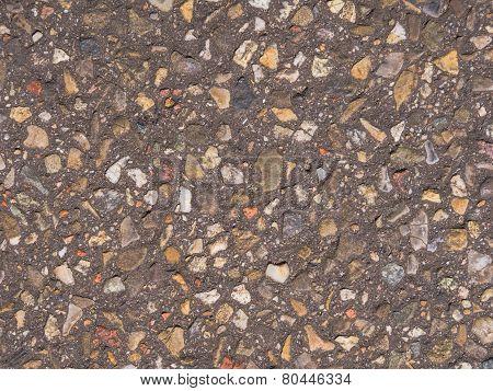 Detail of a concrete tile