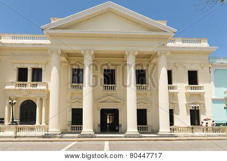 Jose Marti Provincial Public Library,santa Clara,cuba