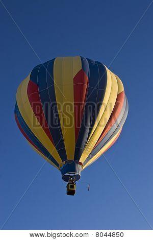 Multi-colored Hot Air Ballon