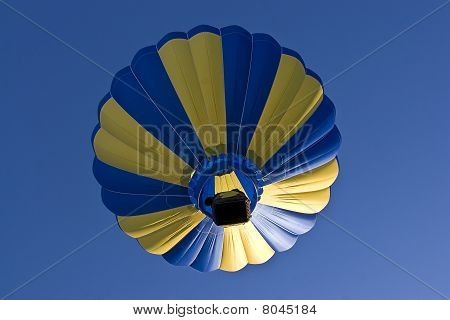 Multi-colored Hot Air Ballon