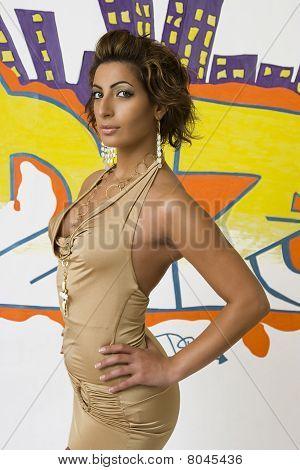 Hip Hop Fashion Model