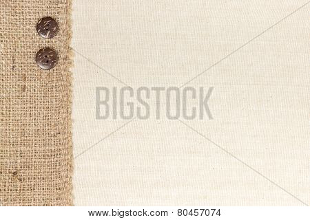 Fabric And Burlap