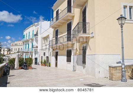Muraglia. Bari oldtown. Apulia.
