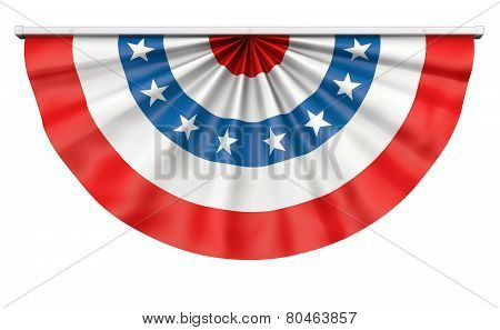 Bunting American Flag