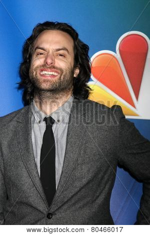 LOS ANGELES - DEC 16:  Chris D'Elia at the NBCUniversal TCA Press Tour at the Huntington Langham Hotel on January 16, 2015 in Pasadena, CA