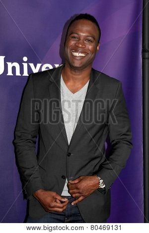 LOS ANGELES - JAN 15:  Kevin Daniels at the NBCUniversal Cable TCA Winter 2015 at a The Langham Huntington Hotel on January 15, 2015 in Pasadena, CA