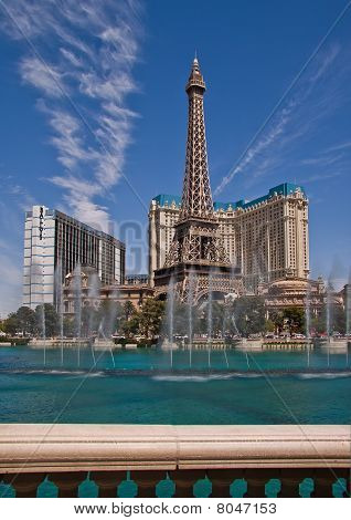 Paris Hotel and Casino in Las Vegas