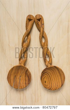 Wooden Salad Spoons