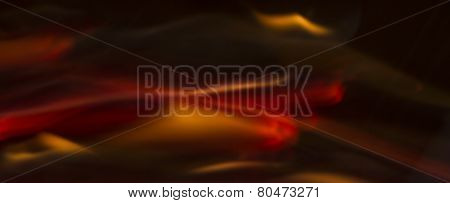 Soft Abstract Blurred Fire Streaks