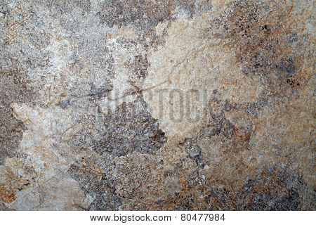 Gray And Beige Slate Stone Textured Background