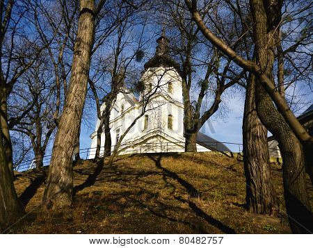 Church on the hill in Lviv