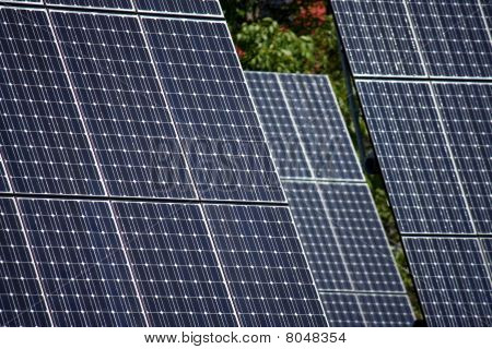 Detail Of High Technology Pv Solar Panels