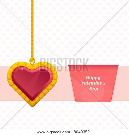 Heart On a Chain Baner