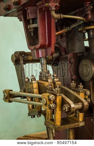 Industrial Machine Crank System