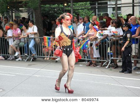 Nyc Lgbt Gay Pride March 2010