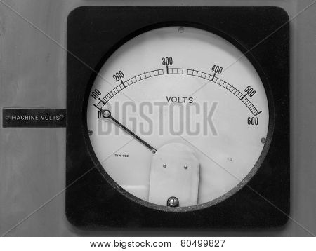 Old Volt Meter