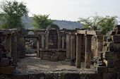 pic of golan-heights  - Archaeological site Mother of the Arches or Umm el Kanatir in Golan Heights Israel - JPG