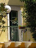 Mediterranean balcony (yellow)