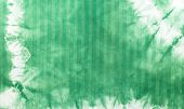 picture of batik  - Green tie dye batik fabric for background and texture - JPG