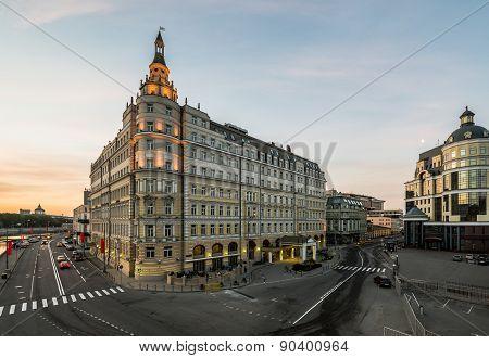 Hotel Baltschug Kempinski.