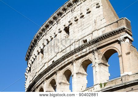 Detail Of Colloseum
