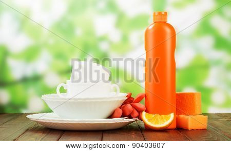Cleaning products and dishes