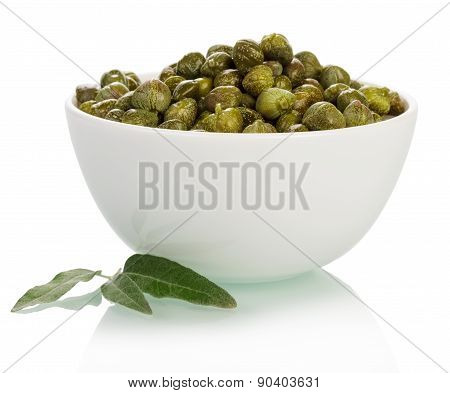 Bowl with capers