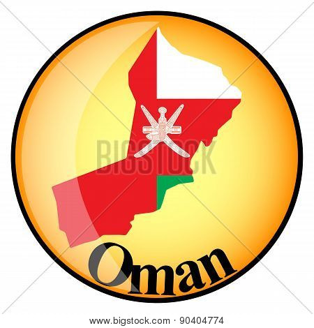 Orange Button With The Image Maps Of Oman