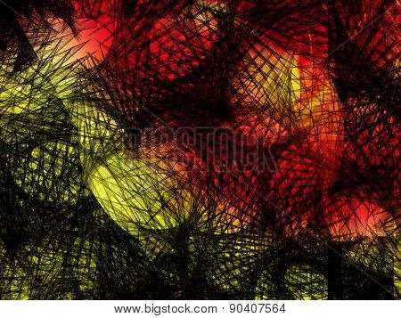 Abstract fantastic background