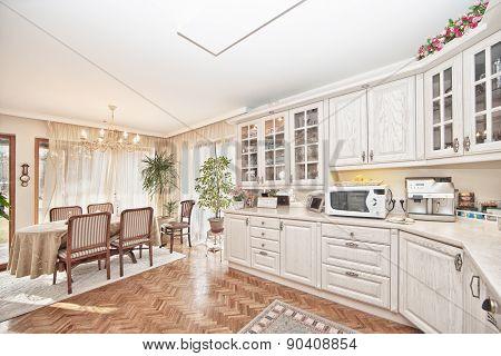 Elegant classical kitchen