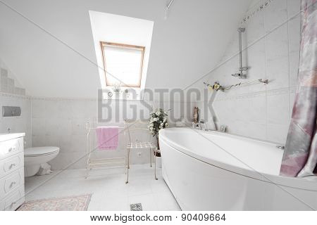 Batroom interior
