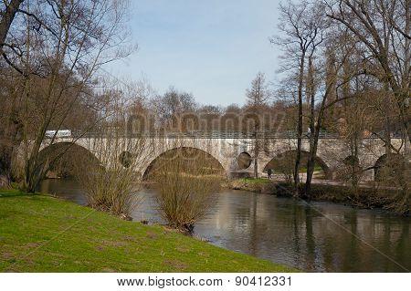 Sternbrueke Bridge, Weimar