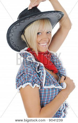 Young Beauti Cowgirl.