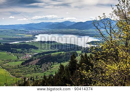 Reservoir Liptovska Mara At Slovakia