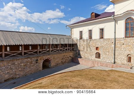 Inner Yard Of Kazan Kremlin, Russia