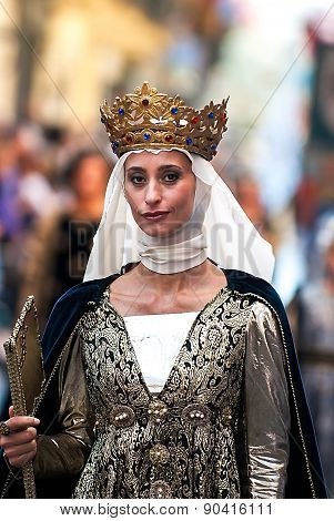 Young Medieval Princess